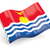 3D · bandiera · Kiribati · isolato · bianco · viaggio - foto d'archivio © MikhailMishchenko