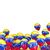 ballonnen · vlag · Venezuela · geïsoleerd · witte · land - stockfoto © mikhailmishchenko