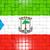 квадратный · флаг · Гвинея · 3D · мозаика - Сток-фото © mikhailmishchenko