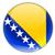 icono · bandera · Bosnia · Herzegovina · metal · marco · viaje - foto stock © mikhailmishchenko