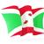 bandeira · Burundi · isolado · branco - foto stock © mikhailmishchenko