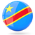 ikon · bayrak · demokratik · cumhuriyet · Kongo · Metal - stok fotoğraf © mikhailmishchenko