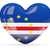 heart shaped icon with flag of cape verde stock photo © mikhailmishchenko