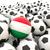 futebol · futebol · bola · Hungria · bandeira · 3D - foto stock © mikhailmishchenko