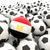 football with flag of egypt stock photo © mikhailmishchenko