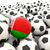 football with flag of belarus stock photo © mikhailmishchenko