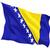 bandera · Bosnia · Herzegovina · primer · plano · 3d · viaje - foto stock © mikhailmishchenko