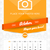 october 2016 wall monthly calendar for 2016 year vector design print template with place for photo stock photo © mikhailmorosin