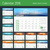calendar for 2016 year vector design calendar planner template with place for photo week starts su stock photo © mikhailmorosin