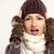 zimą · cap · wełny · szalik · moda · dziewczyna - zdjęcia stock © milanmarkovic78