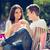 amoroso · casal · isolado · branco · mulher - foto stock © milanmarkovic78