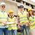 bem · sucedido · equipe · quatro · construção · edifício - foto stock © MilanMarkovic78