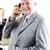 szczęśliwy · starszy · biznesmen · uśmiechnięty · siwe · włosy · czarny · garnitur - zdjęcia stock © milanmarkovic78