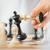 mate · primer · plano · mano · humana · blanco · rey · del · ajedrez - foto stock © MilanMarkovic78
