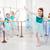 meninas · balé · grupo · sorridente · dançar - foto stock © MilanMarkovic78