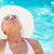 бассейна · портрет · молодые · красивая · женщина · солнце - Сток-фото © MilanMarkovic78