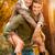 fiatal · romantikus · mosolyog · pár · átkarol · egyéb - stock fotó © milanmarkovic78