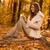 mujer · hermosa · lectura · libro · forestales · naturaleza · feliz - foto stock © milanmarkovic78