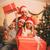 父 · 娘 · 見える · 幸せ · 着用 · サンタクロース - ストックフォト © milanmarkovic78
