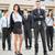 młodych · kobieta · interesu · biznesmen · zespołu · stałego - zdjęcia stock © MilanMarkovic78