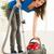 женщину · ковер · устал · очистки · пылесос - Сток-фото © milanmarkovic78