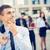 młodych · biznesmen · portret · myślenia · stałego · biurowiec - zdjęcia stock © MilanMarkovic78