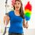 pulizie · di · primavera · donna · divertimento · punta · pulizia · spray - foto d'archivio © milanmarkovic78