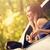 車 · 小さな · 美人 · 座って · 森林 - ストックフォト © MilanMarkovic78