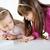 aranyos · kislányok · kettő · játszik · otthon · család - stock fotó © MilanMarkovic78