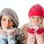 снега · портрет · ладонями - Сток-фото © milanmarkovic78