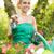 girl planting flowers stock photo © milanmarkovic78