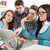 élèves · apprentissage · quatre · belle · géographie · séance - photo stock © MilanMarkovic78