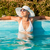 attractive woman in the pool stock photo © milanmarkovic78