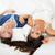かわいい · リラックス · ベッド · 笑みを浮かべて · カメラ - ストックフォト © milanmarkovic78