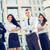 jonge · business · team · kleine · groep · zakenlieden · permanente · kantoorgebouw - stockfoto © MilanMarkovic78