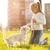 Little Girl With Puppy Dog stock photo © MilanMarkovic78