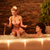 couple relaxing in jacuzzi stock photo © milanmarkovic78