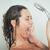 doccia · donna · lavaggio · faccia · felice · sorriso - foto d'archivio © milanmarkovic78