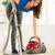 jovem · bela · mulher · limpeza · casa · casa · quarto - foto stock © MilanMarkovic78