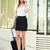 zakenvrouw · koffer · zakenvrouw · kantoorgebouw · klaar · zakenreis - stockfoto © MilanMarkovic78