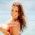 girl on the beach stock photo © milanmarkovic78