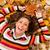 automne · amusement · belle · jeune · femme · ensoleillée · forêt - photo stock © MilanMarkovic78