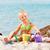 meisje · spelen · strand · zee · meisje · kind - stockfoto © milanmarkovic78