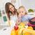 母親 · 娘 · 穀物 · 朝食 · 女性 · 家族 - ストックフォト © milanmarkovic78