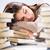 Cute · студент · книгах · портрет · Привлекательная · женщина - Сток-фото © milanmarkovic78