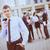 młodych · biznesmen · uśmiechnięty · stałego · biurowiec · zespół · firmy - zdjęcia stock © MilanMarkovic78