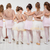 kicsi · csoport · kislányok · ruhák · balett · osztály - stock fotó © MilanMarkovic78
