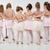 pequeno · grupo · meninas · vestidos · balé · classe - foto stock © MilanMarkovic78