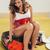 moe · vrouw · vergadering · bagage · hoofd - stockfoto © milanmarkovic78
