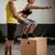 kruis · opleiding · vrouw · gymnasium · personal · trainer - stockfoto © MilanMarkovic78